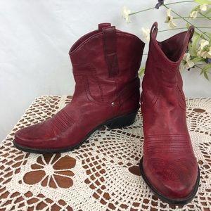 Franco Sarto Waco western booties